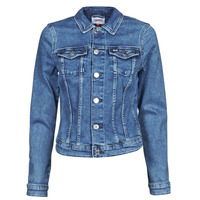material Women Denim jackets Tommy Jeans VIVIANNE SLIM DENIM TRUCKER NMBS Blue / Medium