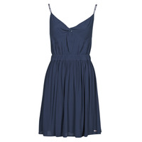 material Women Short Dresses Tommy Jeans TJW ESSENTIAL STRAP DRESS Marine