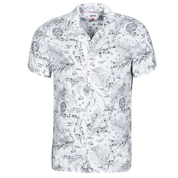 material Men short-sleeved shirts Tommy Jeans TJM MIAMI PRINT CAMP SHIRT Printed / Flower