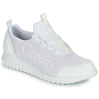 Shoes Men Low top trainers Calvin Klein Jeans RUNNER SNEAKER LACEUP MESH White