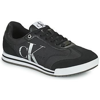 Shoes Men Low top trainers Calvin Klein Jeans LOW PROFILE SNEAKER LACEUP PES Black
