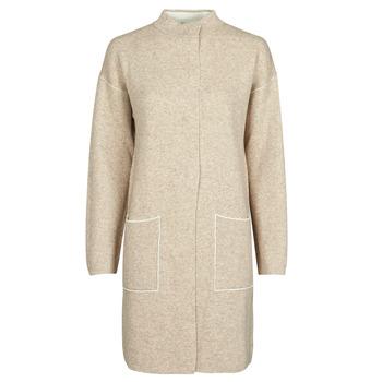 material Women coats Benetton 1132E9071-62U Beige