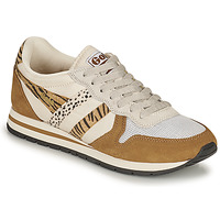 Shoes Women Low top trainers Gola DAYTONA SAFARI Zebra / Camel