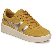 Shoes Women Low top trainers Gola GRANDSLAM PEARL Mustard
