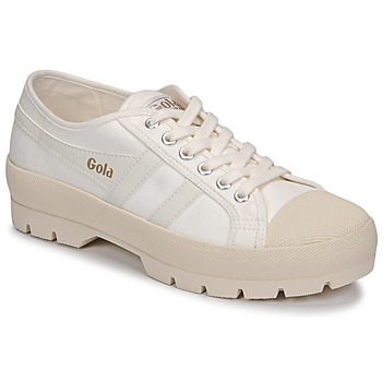 Shoes Women Low top trainers Gola COASTER PEAK Ecru