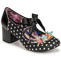 Shoes Women Court shoes Irregular Choice STRIKE A POSIE Black