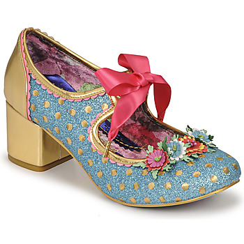 Shoes Women Court shoes Irregular Choice STRIKE A POSIE Blue / Gold