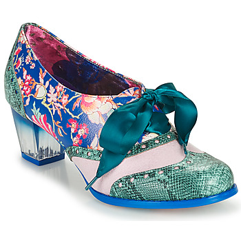 Shoes Women Court shoes Irregular Choice CORPORATE BEAUTY Green / Blue