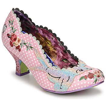 Shoes Women Court shoes Irregular Choice FLY FREE Pink