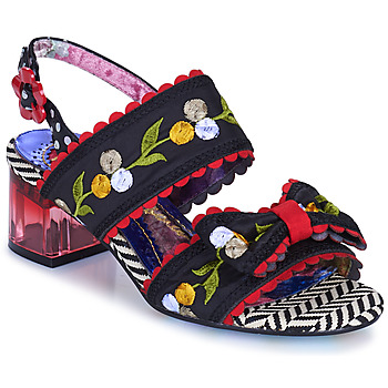 Shoes Women Sandals Irregular Choice HERE COMES THE SUN Black / Red