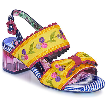 Shoes Women Sandals Irregular Choice HERE COMES THE SUN Yellow / Blue