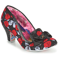 Shoes Women Court shoes Irregular Choice KANJANKA Black / Red
