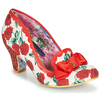 Shoes Women Court shoes Irregular Choice KANJANKA Red / White