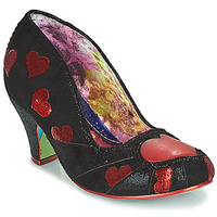 Shoes Women Court shoes Irregular Choice HEART ON YOUR SLEEVE Black