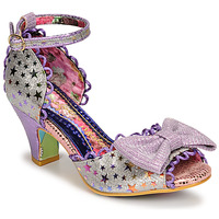 Shoes Women Sandals Irregular Choice SITTING PRETTY Violet
