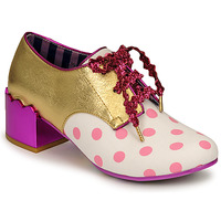 Shoes Women Derby shoes Irregular Choice VICTORIA SPONGE Pink / Gold