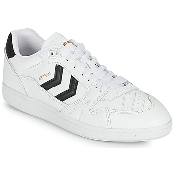 Shoes Men Low top trainers Hummel HB TEAM White / Black
