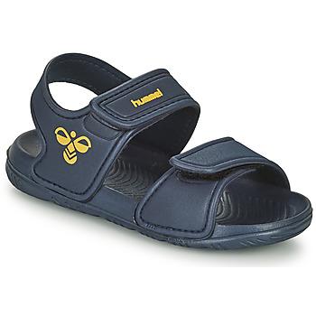 Shoes Children Sports sandals Hummel PLAYA JR Blue
