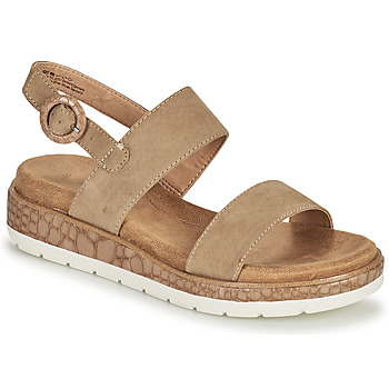 Shoes Women Sandals S.Oliver SAPINA Beige