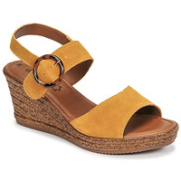 Shoes Women Sandals S.Oliver SAPINO Mustard