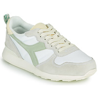 Shoes Women Low top trainers Diadora CAMARO ICONA WN White / Green