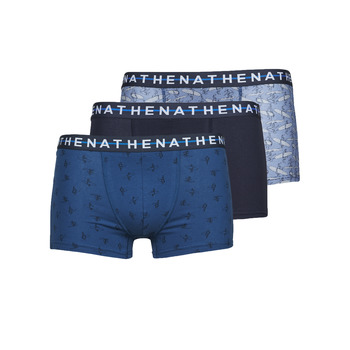Underwear Men Boxer shorts Athena EASY STYLE X3 Blue / Marine / Blue