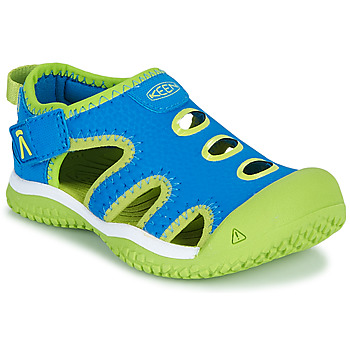Shoes Boy Sports sandals Keen STINGRAY Blue / Green