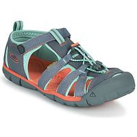 Shoes Girl Sports sandals Keen SEACAMP II CNX Grey / Pink
