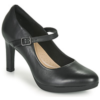 Shoes Women Court shoes Clarks AMBYR SHINE Black