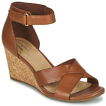 Shoes Women Sandals Clarks MARGEE GRACIE Brown