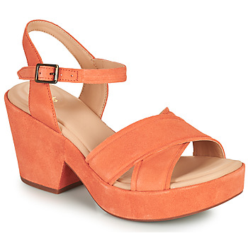 Shoes Women Sandals Clarks MARITSA70STRAP Coral
