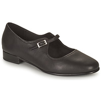 Shoes Women Ballerinas Clarks PURE FLAT Black