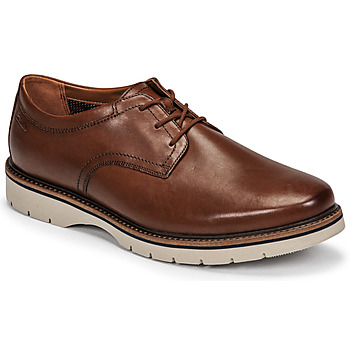 Shoes Men Derby shoes Clarks BAYHILL PLAIN Brown