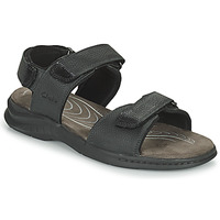 Shoes Men Sandals Clarks HAPSFORD CREEK Black