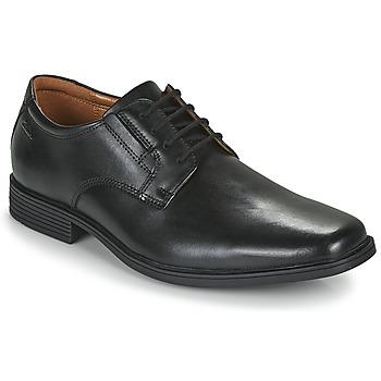 Shoes Men Derby shoes Clarks TILDEN PLAIN Black
