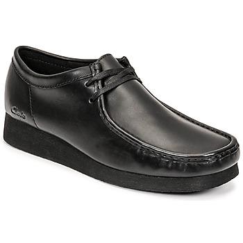 Shoes Men Derby shoes Clarks WALLABEE 2 Black