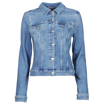 material Women Denim jackets Tommy Hilfiger SLIM JACKET JUL Blue