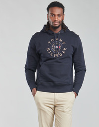 material Men sweaters Tommy Hilfiger ICON COIN HOODY Marine