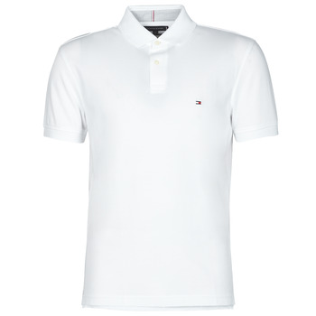 material Men short-sleeved polo shirts Tommy Hilfiger 1985 REGULAR POLO White