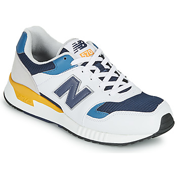 Shoes Men Low top trainers New Balance 570 White / Yellow