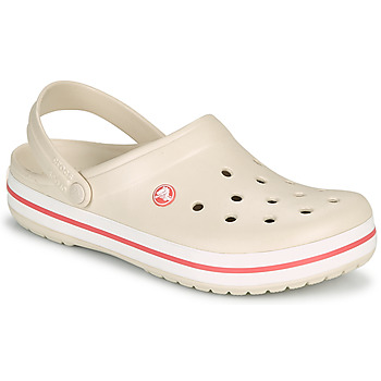 Shoes Women Clogs Crocs CROCBAND Beige / Coral