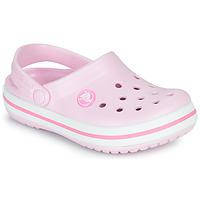 Shoes Girl Clogs Crocs CROCBAND CLOG K Pink