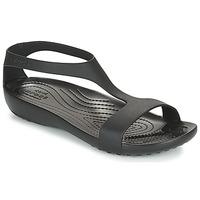 Shoes Women Sandals Crocs CROCS SERENA SANDAL W Black