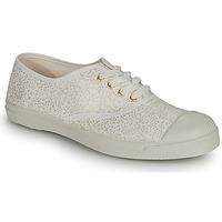 Shoes Women Low top trainers Bensimon SHINNY White / Gold