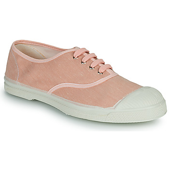 Shoes Women Low top trainers Bensimon LIN COTON Pink