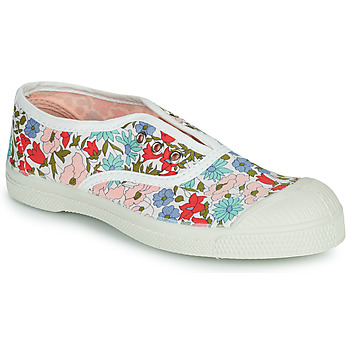 Shoes Girl Low top trainers Bensimon LIBERTY White / Blue