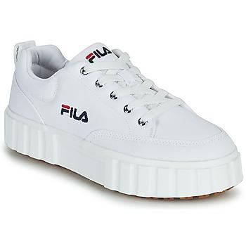 Shoes Women Low top trainers Fila SANDBLAST C WMN White