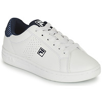 Shoes Boy Low top trainers Fila CROSSCOURT 2 NT KIDS White / Blue