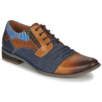 Shoes Men Derby shoes Kdopa MARRAKECH Camel / Blue