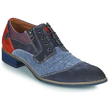 Shoes Men Derby shoes Kdopa MONTMARTRE Blue / Brown